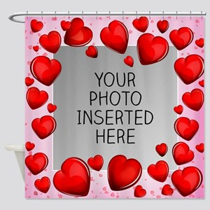 Give a Little Love Shower Curtain