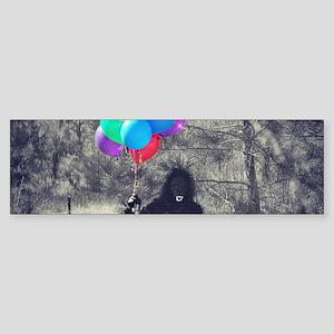 ape balloons Bumper Sticker