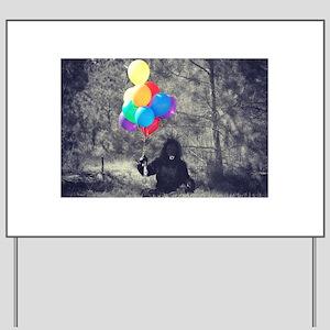 Ape Balloons Yard Sign