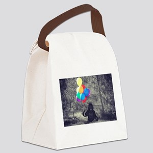 ape balloons Canvas Lunch Bag