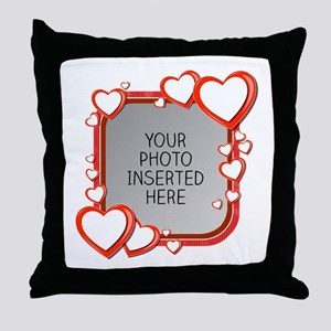 Sizes of Love Throw Pillow