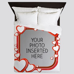 Sizes of Love Queen Duvet