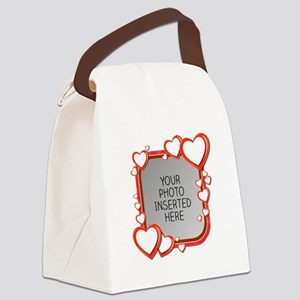 Sizes of Love Canvas Lunch Bag