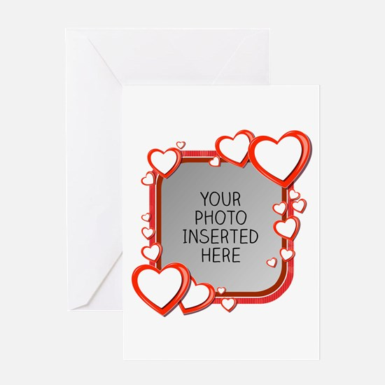 Sizes of Love Greeting Card
