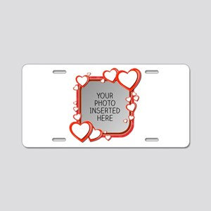 Sizes of Love Aluminum License Plate