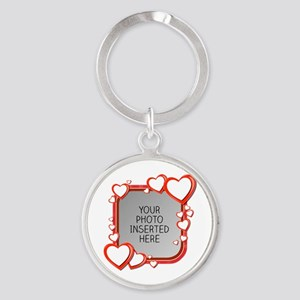 Sizes of Love Round Keychain