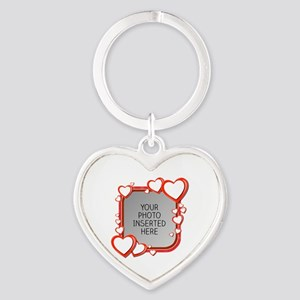 Sizes of Love Heart Keychain