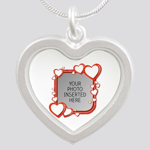 Sizes of Love Silver Heart Necklace