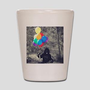ape balloons Shot Glass