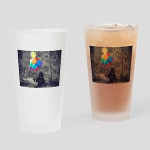 ape balloons Drinking Glass