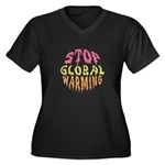Earth Day / Stop Global Warming Women's Plus Size