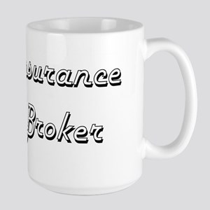 Insurance Broker Classic Job Design Mugs