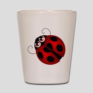 Ladybug Shot Glass
