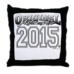 2015 College Throw Pillow