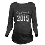 2015 College Long Sleeve Maternity T-Shirt