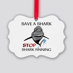 Stop Shark Finning Ornament