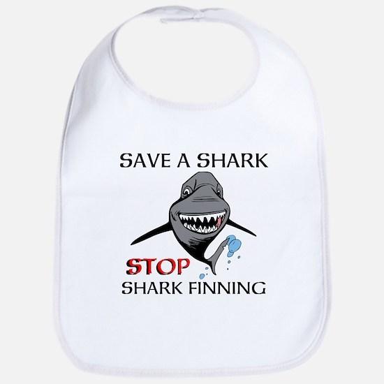 Stop Shark Finning Bib