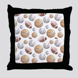 Court and Field Throw Pillow