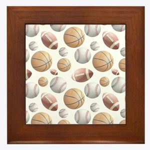 Court and Field Framed Tile