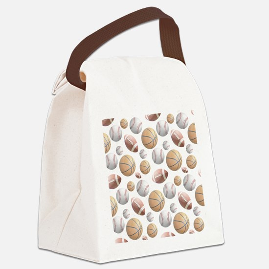 Court and Field Canvas Lunch Bag
