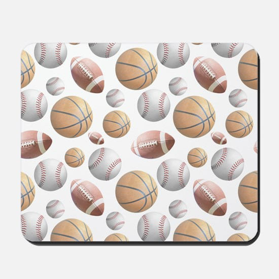 Court and Field Mousepad