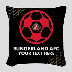 Sunderland AFC Woven Throw Pillow