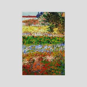 Van Gogh Flowering Garden 4' X 6' Rug
