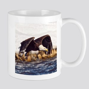 Soaring on the Wings of an Eagle Mugs