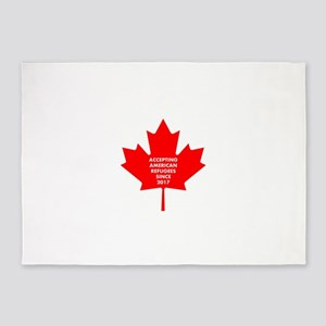 Welcome to Canada 5'x7'Area Rug