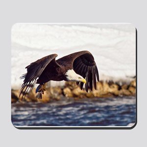 Soaring on the Wings of an Eagle Mousepad