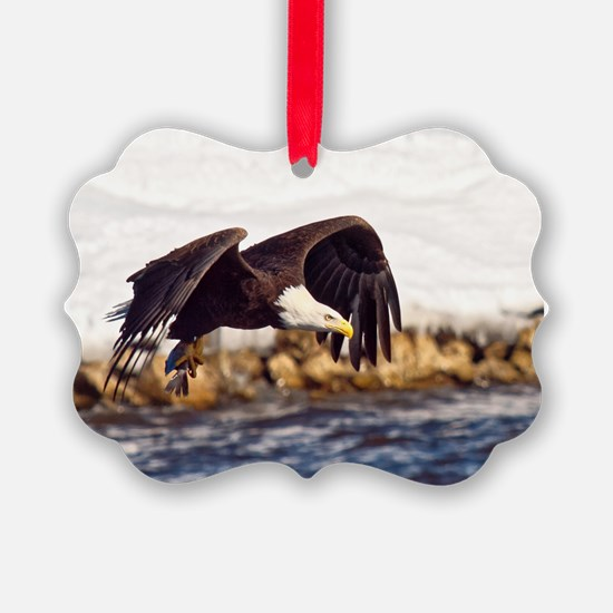 Soaring on the Wings of an Eagle Ornament