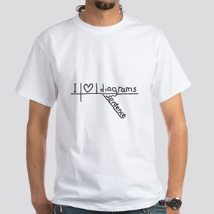 I Heart Sentence Diagrams T-Shirt