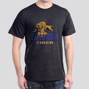 Saber tooth Tiger Dark T-Shirt