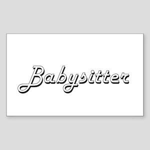 Babysitter Classic Job Design Sticker