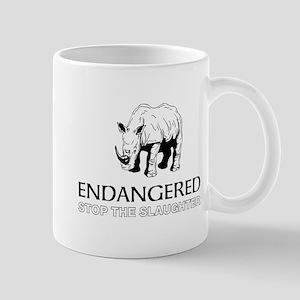 Endangered Rhino Mugs
