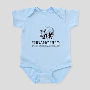 Endangered Rhino Body Suit