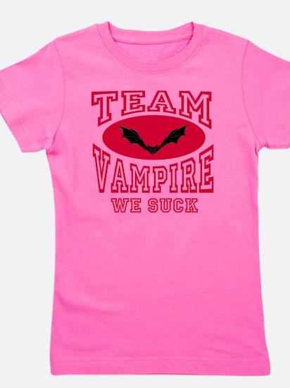 Team Vampire We Suck Girl's Tee