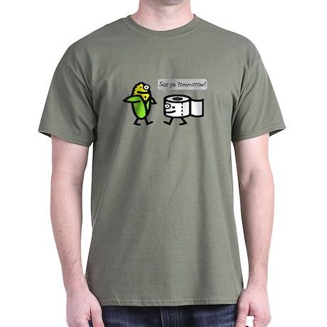 CORN POOP! Dark T-Shirt