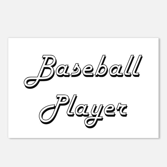 Baseball Player Classic J Postcards (Package of 8)