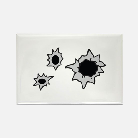 BULLET HOLES Magnets