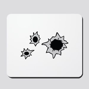 BULLET HOLES Mousepad
