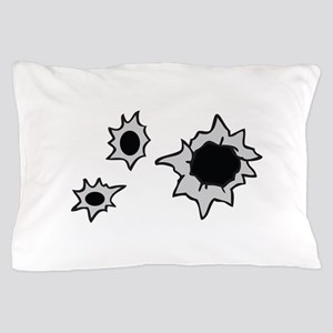 BULLET HOLES Pillow Case