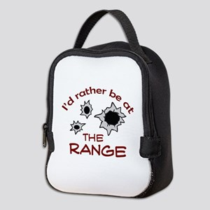 RATHER BE AT THE RANGE Neoprene Lunch Bag