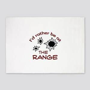 RATHER BE AT THE RANGE 5'x7'Area Rug