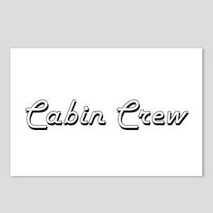 Cabin Crew Classic Job De Postcards (Package of 8)