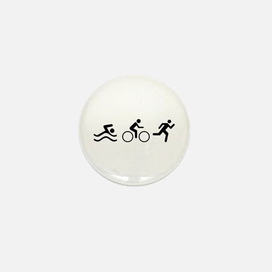 TRIATHLON LOGO Mini Button