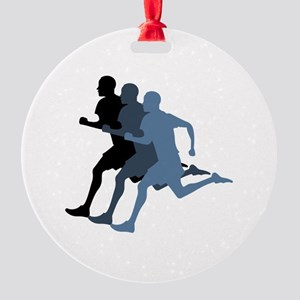 MALE RUNNER Ornament