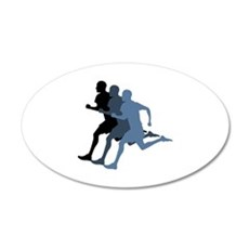 MALE RUNNER Wall Decal