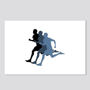 MALE RUNNER Postcards (Package of 8)