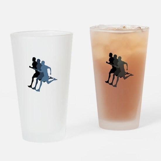 MALE RUNNER Drinking Glass